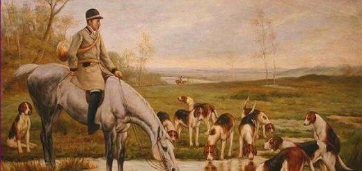 Коллективная охота с гончими