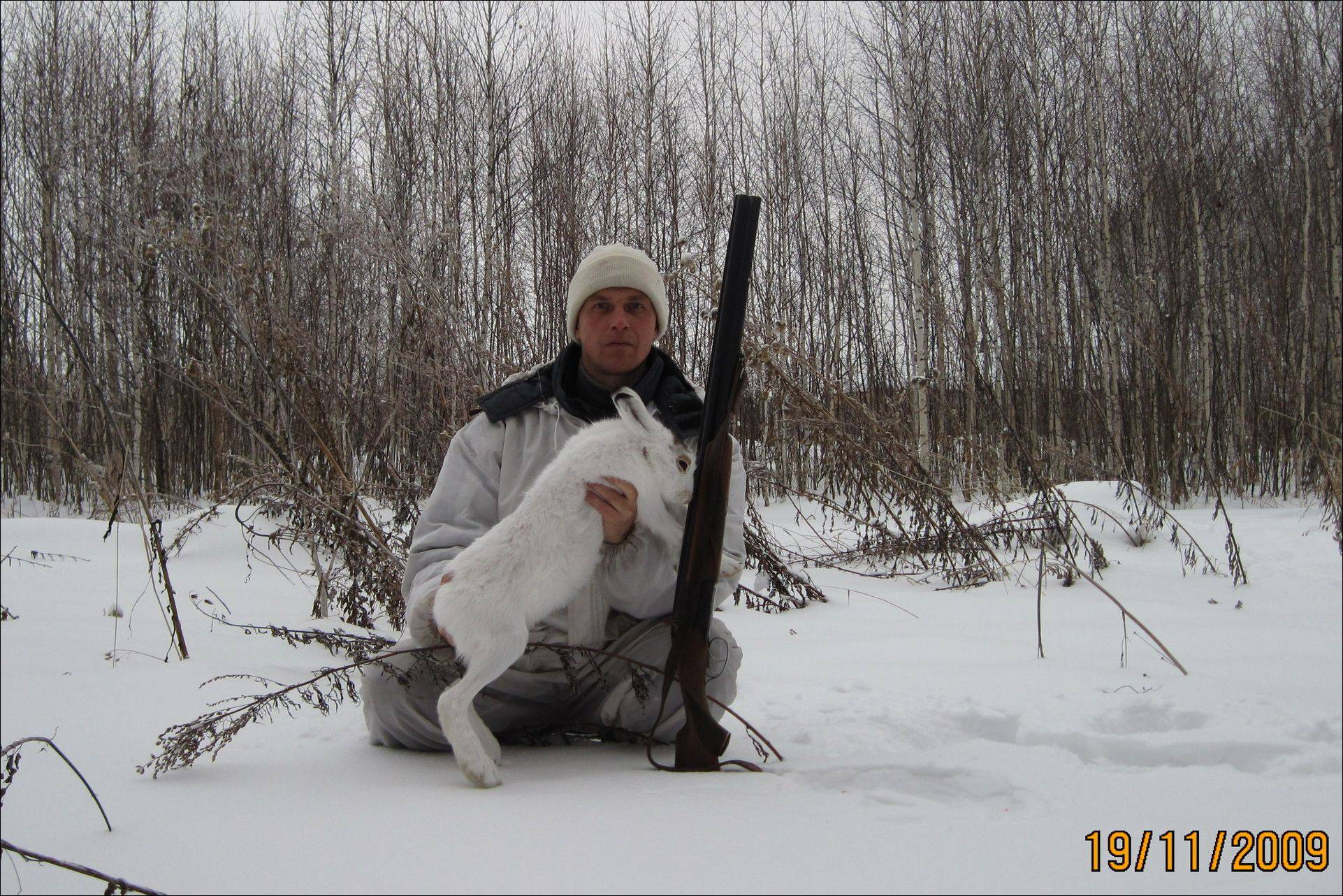 Охота на зайца загоном без собаки