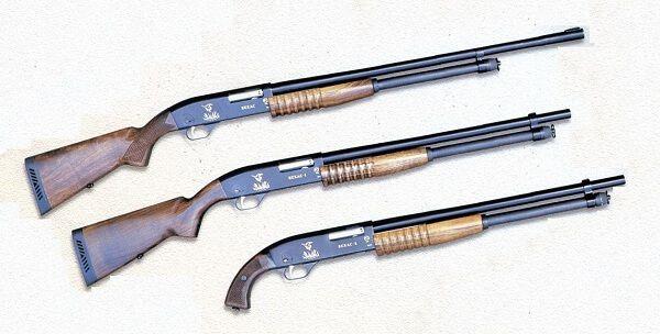 Помповое ружье Бекас РП-12М-05