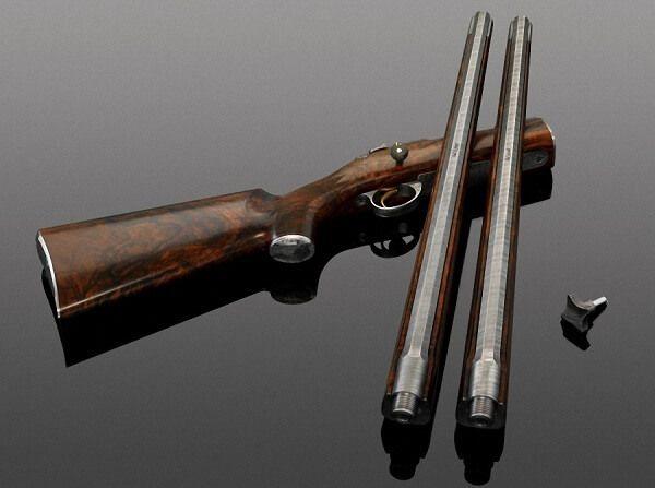 Одно из самых дорогих охотничьих ружей VO Falcon Edition, стоимостью свыше 800000 $. Производитель VO Vapen.