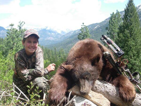 Обучение охоте детей