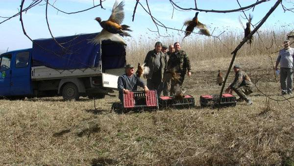 Охотничьи хозяйства в Молдавии