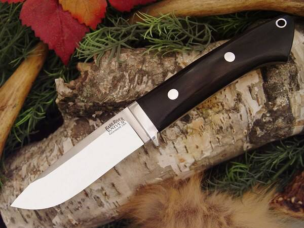 Охотничий нож Bark River Drop Point Hunter