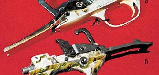 Ударный механизм ружья