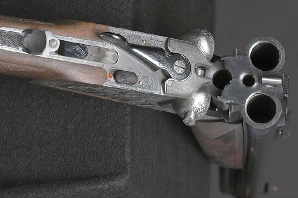 Четырехствольное ружье