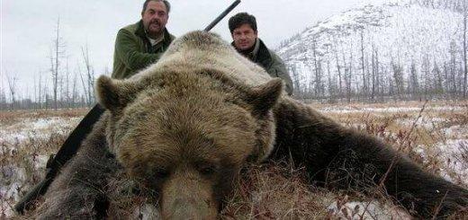 Охота на медведя в Магадане