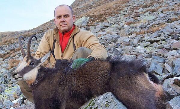 Охота в Румынии