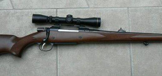 Винтовка cz 550