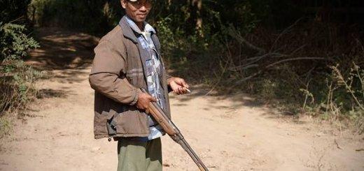 Охота в Бирме