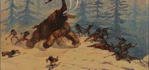Охота первобытного человека
