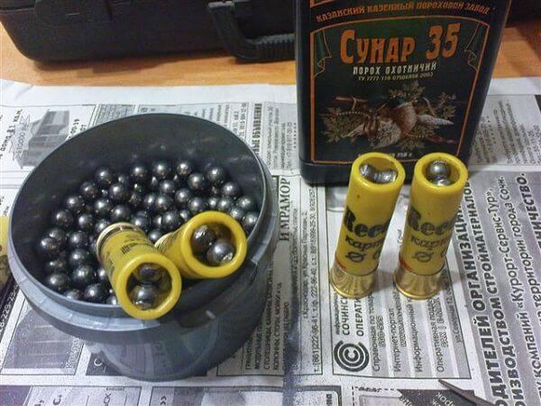 Снаряжение патронов