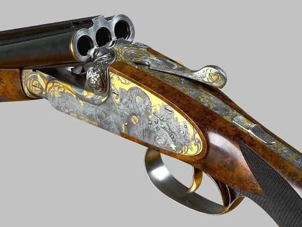 Комбинированное трехствольное ружье
