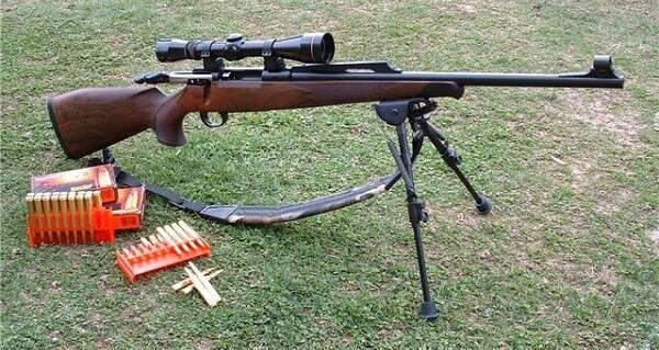 Пристрелка охотничьего карабина