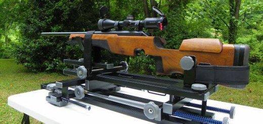 Станок для пристрелки охотничьего карабина