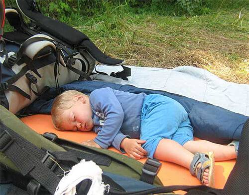 Сон в походе