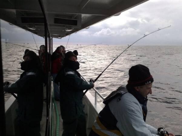 Рыбалка в Литве на Балтийском море
