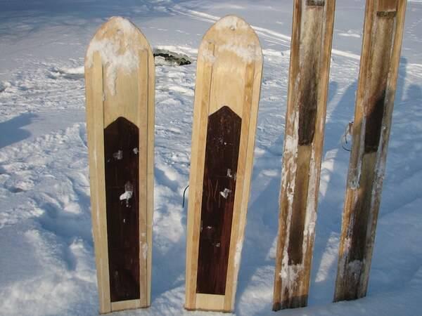 Охотничьи лыжи своими руками фото