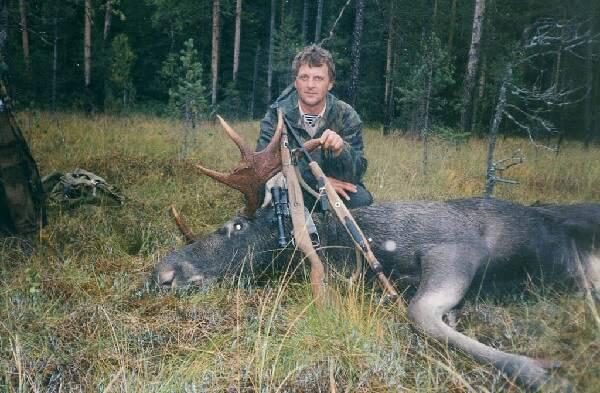 Охота на лося осенью
