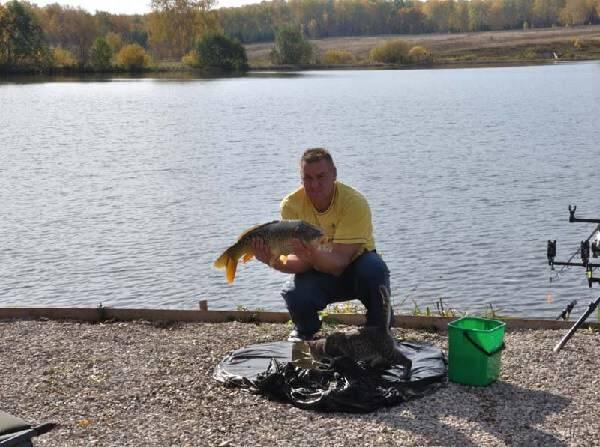 Ловля карпа на озере