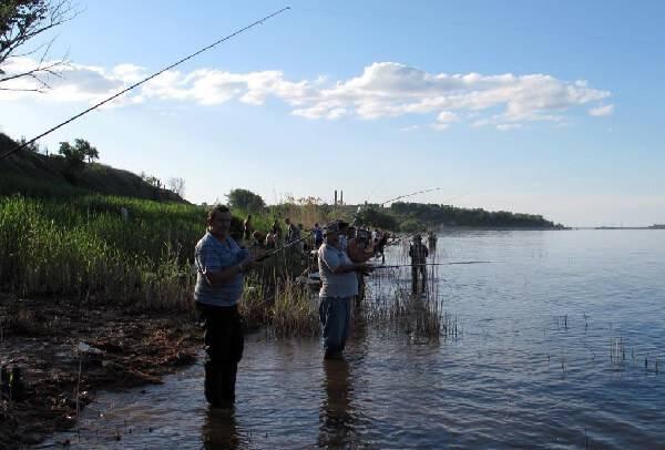 рыбалка на черноспинку
