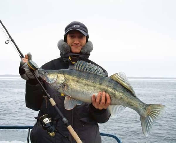 спиннинг для ловли судака с лодки тест