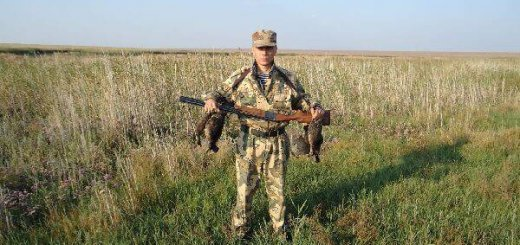 Охота в Астане весной