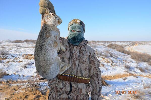 Охота в Астрахани зимой