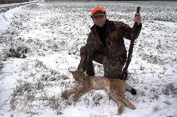 Охота в Латвии зимой