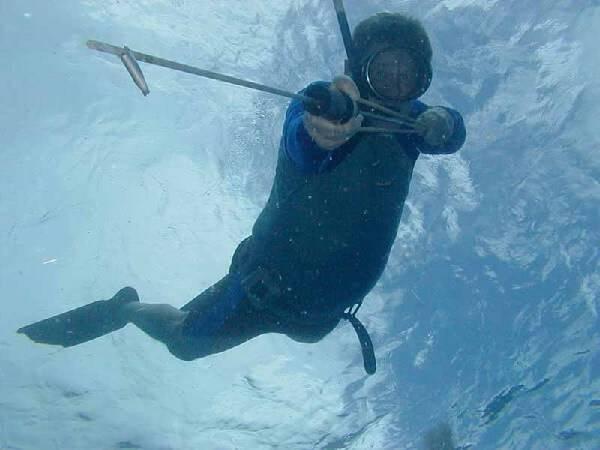 Подводная охота в Дагестане