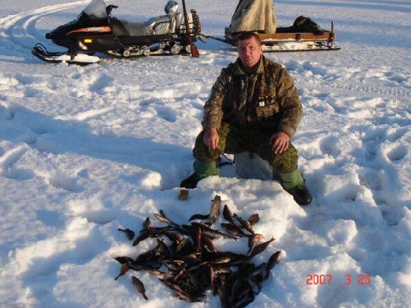 Рыбалка в Карелии зимой
