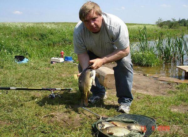 Рыбалка в Савельево