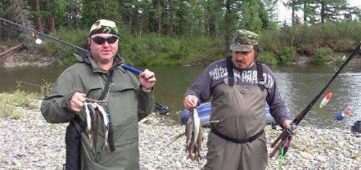 Рыбалка в Тыве
