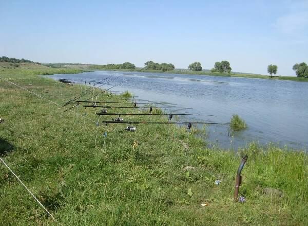 Рыбалка на реке Южный Буг