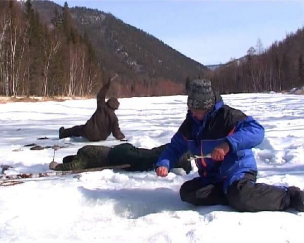 Зимняя Рыбалка в Прибайкалье