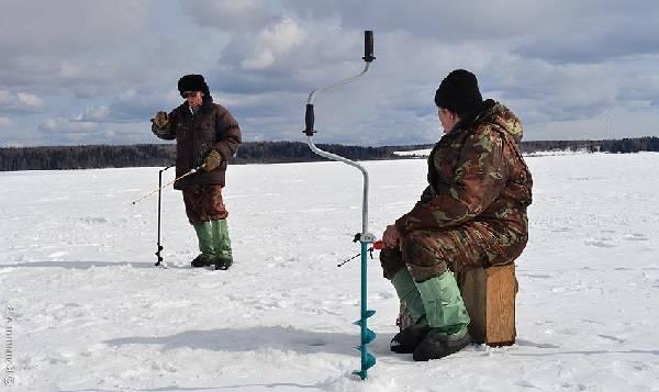 Зимняя рыбалка на Каме
