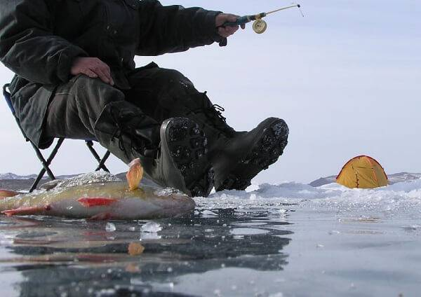 Зимняя рыбалка в приморском крае