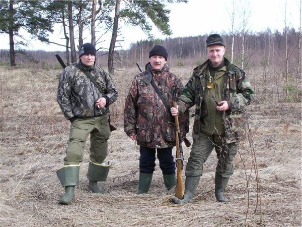 Одежда охотника