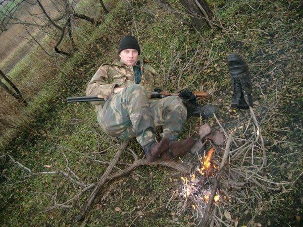 Уход за ногами во время охоты