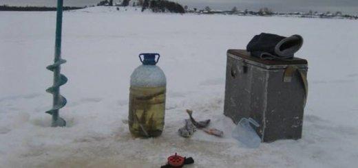 Ловля зимой на живца