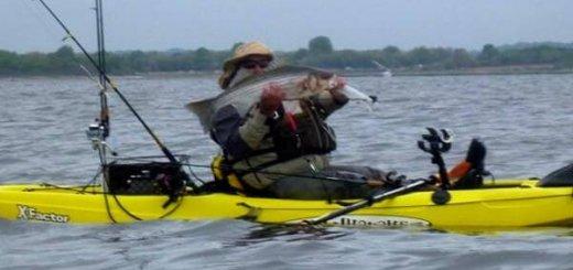 Каяк для рыбалки