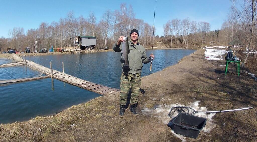 Рыбалка в дюдьково