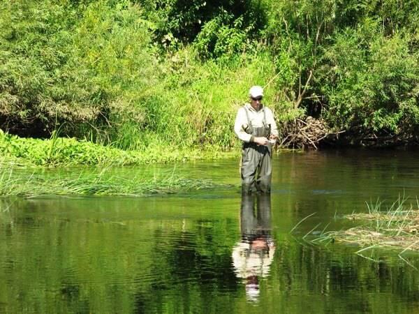 нижняя москва река рыбалка