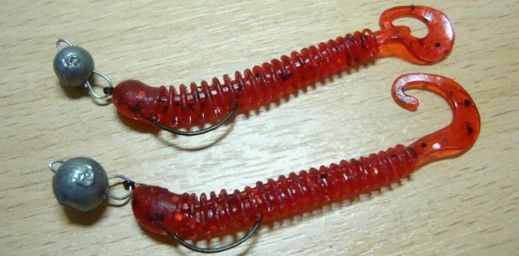 Твистеры для ловли форели