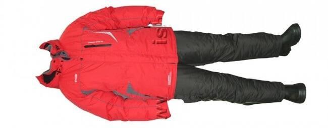 Костюм для зимней рыбалки RYOBI Red/Grey