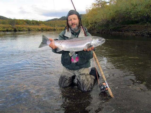 Снасти для ловли кижуча - Кижуч на что, где и как ловить крупная рыба, достигает длины 98