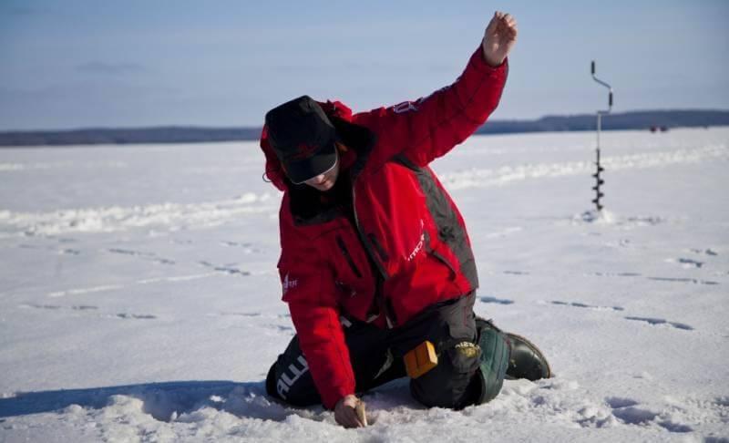 Костюм для зимней рыбалки Ryobi