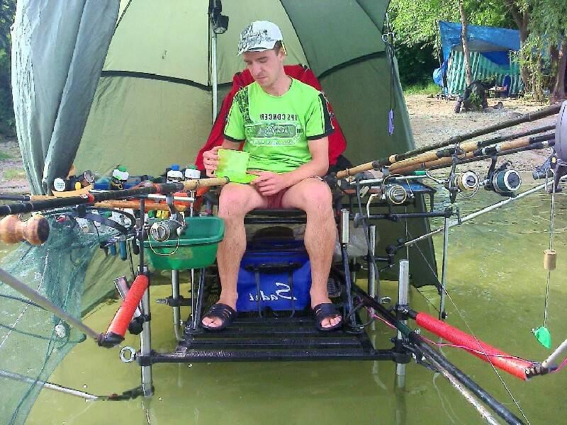Платформа для рыбалки LONE WOLF