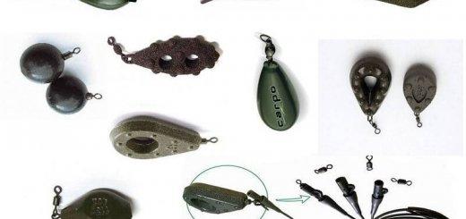 Грузила для рыбалки