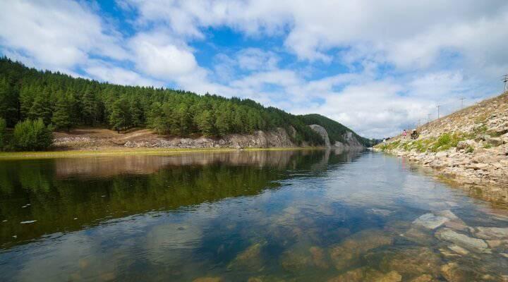 Рыбалка на реке Белая