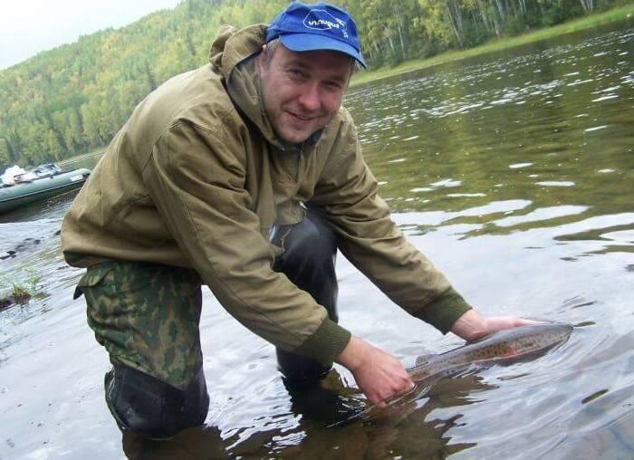 Отпускать пойманную рыбу